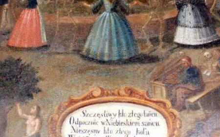 Ogłaszam alarm dla pereł sztuki! Barkowy danse macabre w klasztorze Bernardynów w Kalwarii Zebrzydowskiej w stanie rozkładu…